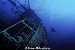 Wreck diving in the Red Sea. by Roine Gabrielsson 